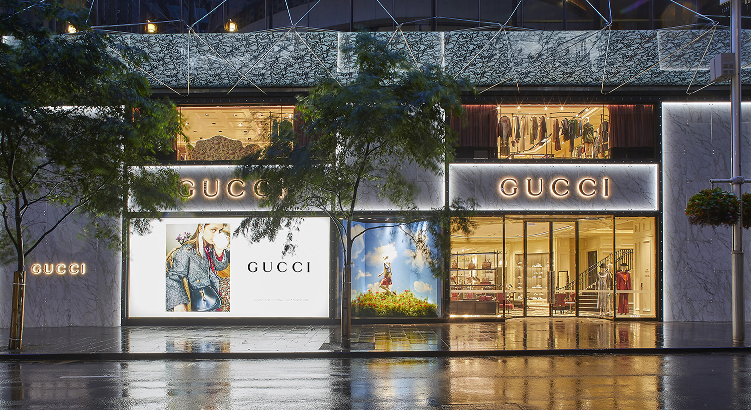 Gucci opens newly renovated store in Sydney at Westfield