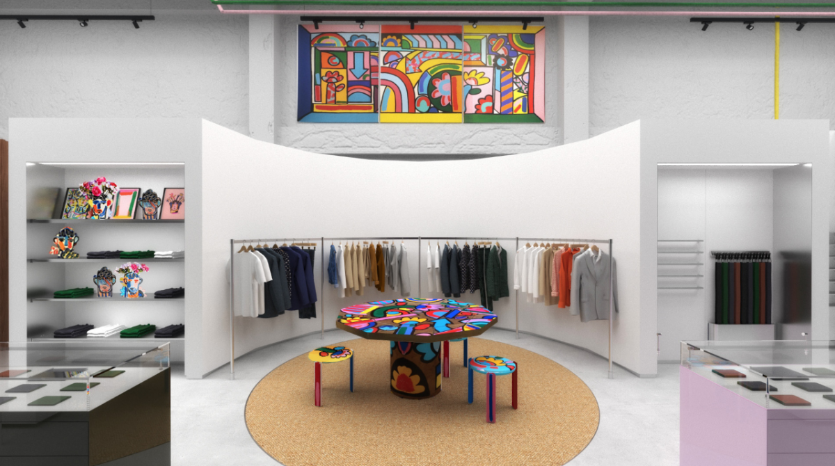 Paul Smith store Los Angeles L.A.