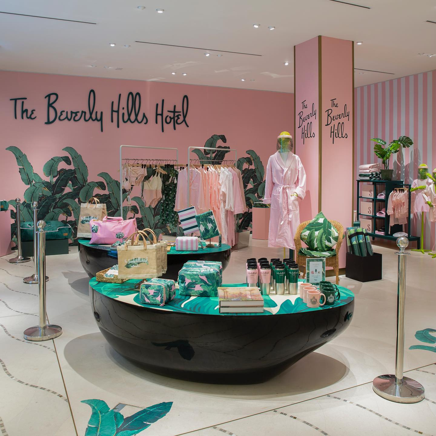 The Beverly Hills Hotel Signature Shop at Galleries Lafayette Doha