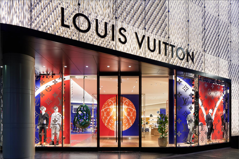 Louis Vuitton x NBA full capsule now at LV in Tokyo