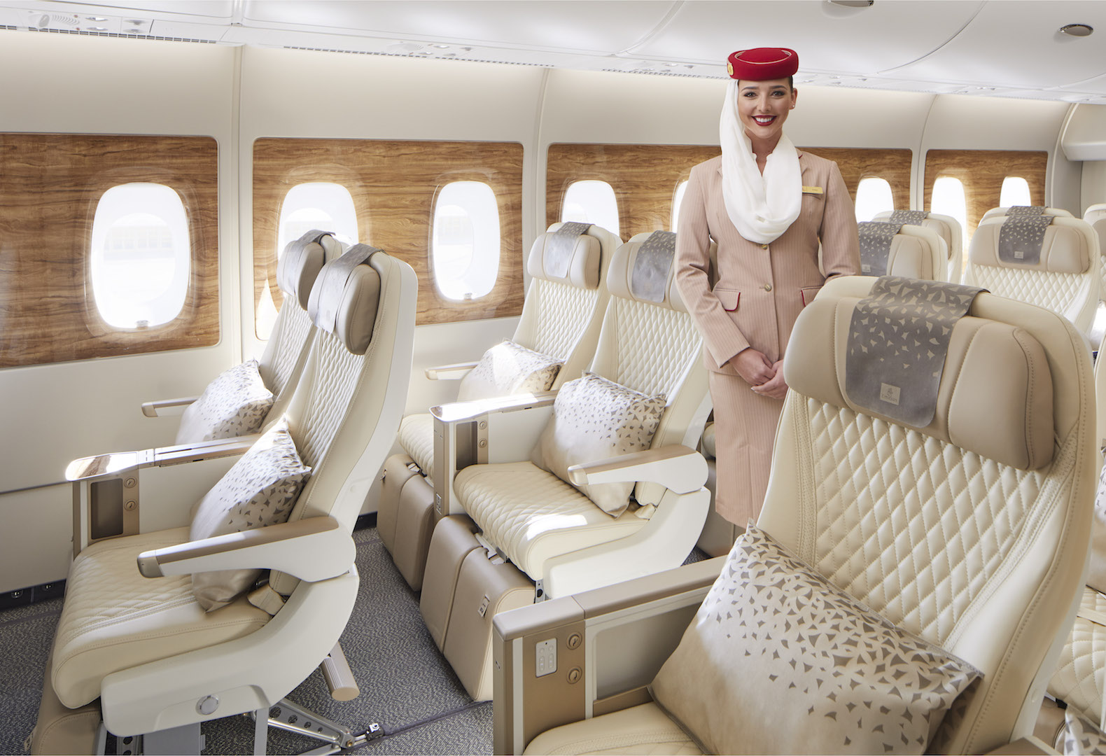 EMIRATES new Premium Economy cabin product 2020