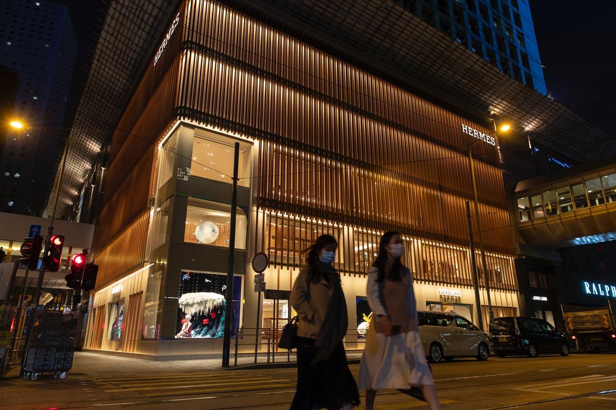 Hermès store in Guangzhou
