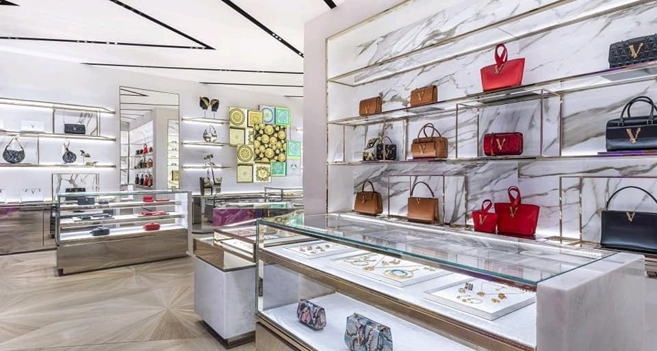 Versace new store in London at New Bond Street