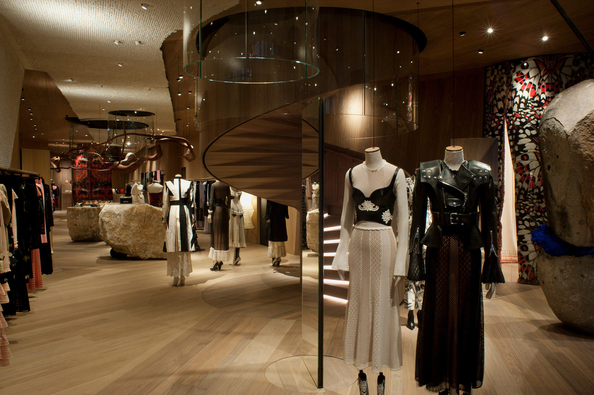Alexander McQueen new store concept in London at Old Bond St
