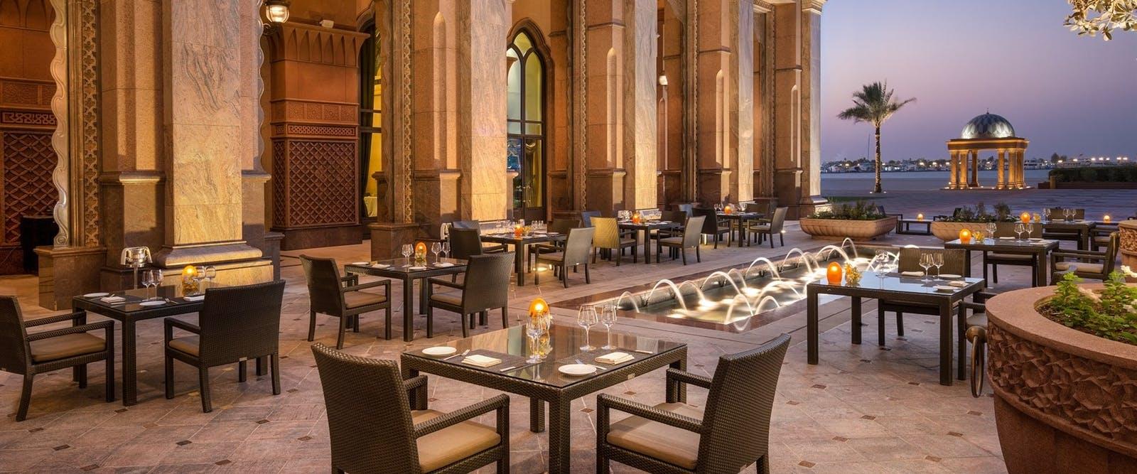 Emirates Palace, Abu Dhabi - Mandarin Oriental - kosher food resaurants
