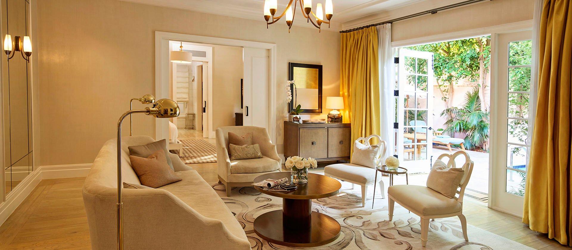 Hotel Bel-Air's Grace Kelly Suite