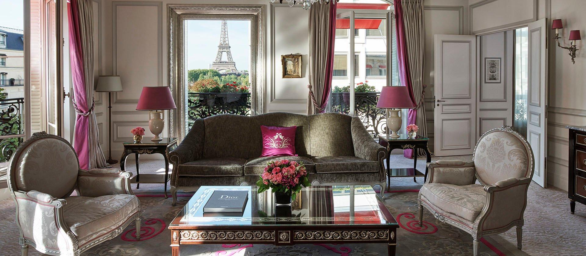 Hotel Plaza Athenee, Paris, Eiffel Suite