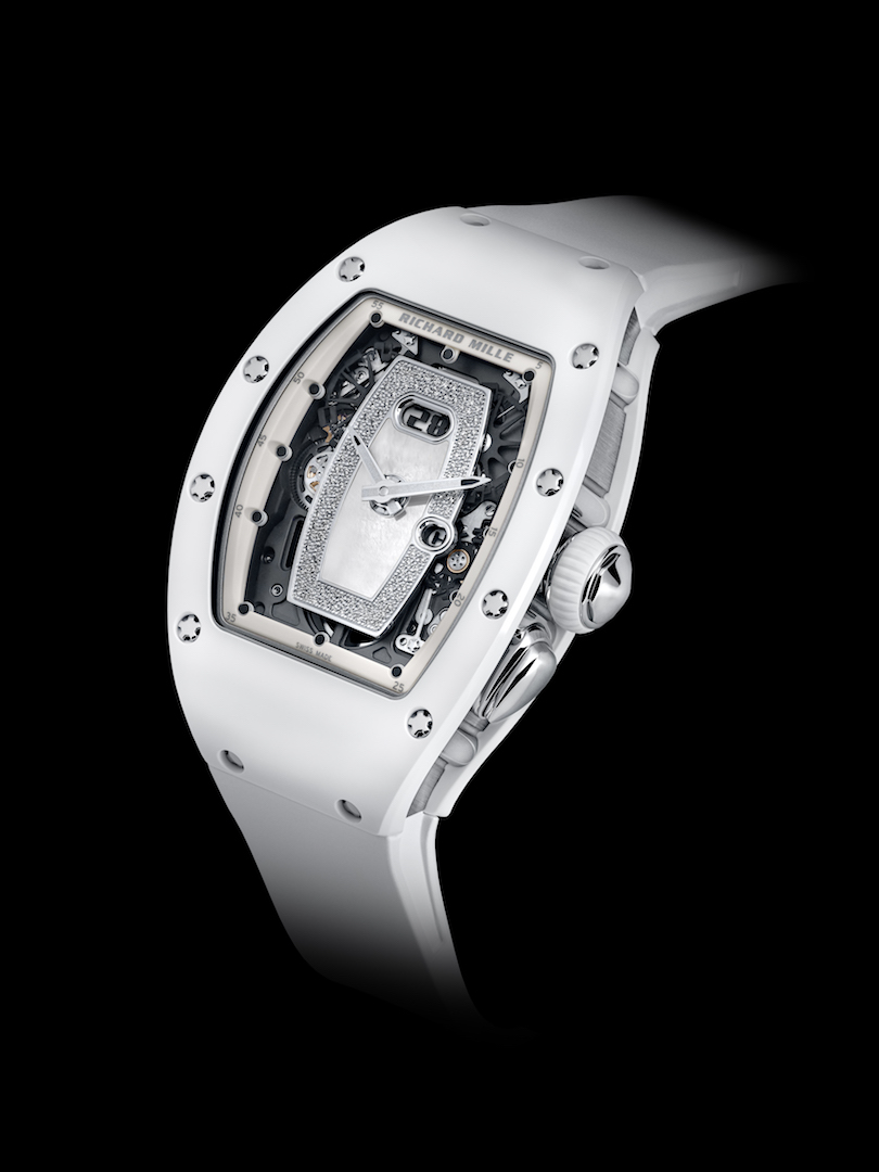 Richard Mille new RM 037 white ceramic automatic