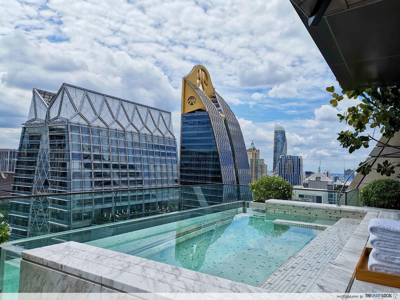 Rosewood Bangkok, Two-Bedroom Sky Pool Suite