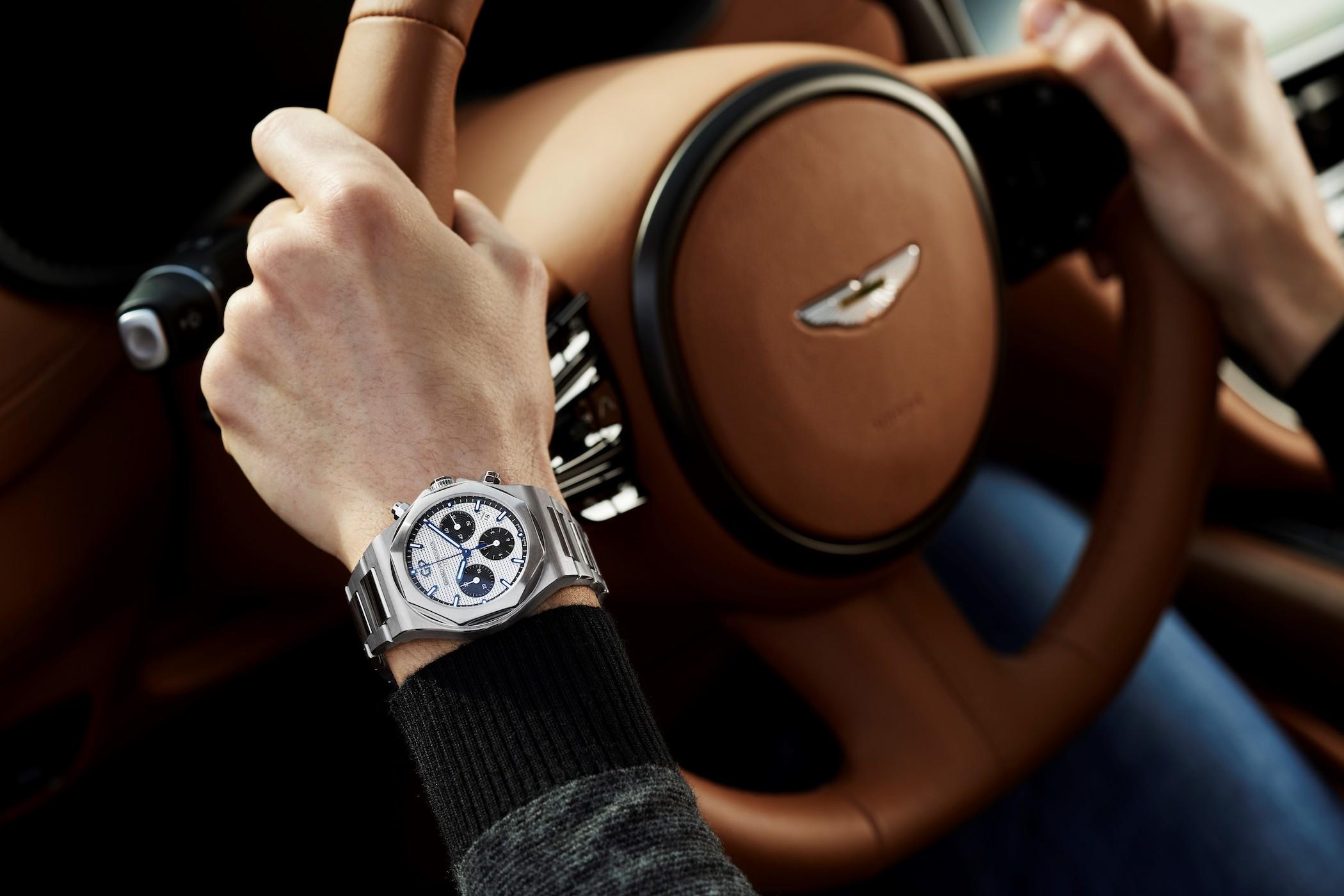 Girard-Perregaux x Aston Martin partnership (2021)