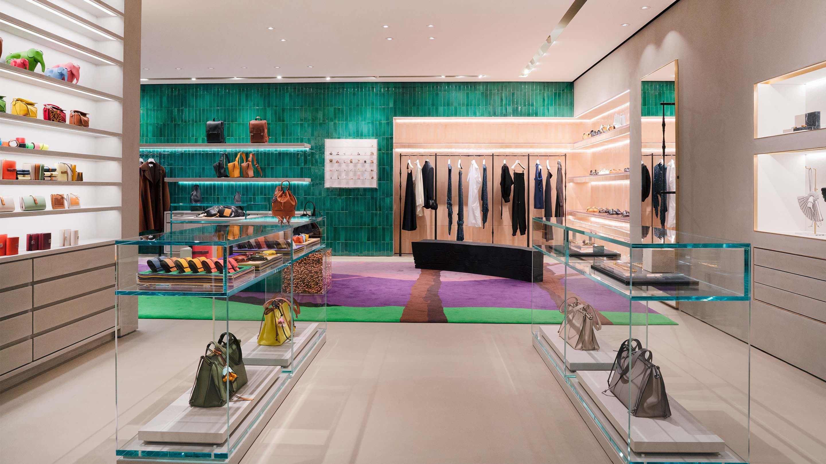 LOEWE new store at South Coast Plaza in California