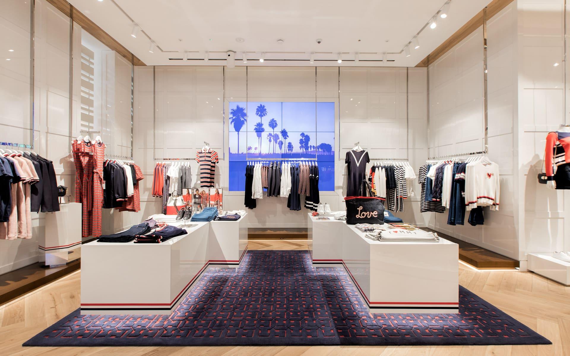 Tommy Hilfiger flagship store in London at Regent St