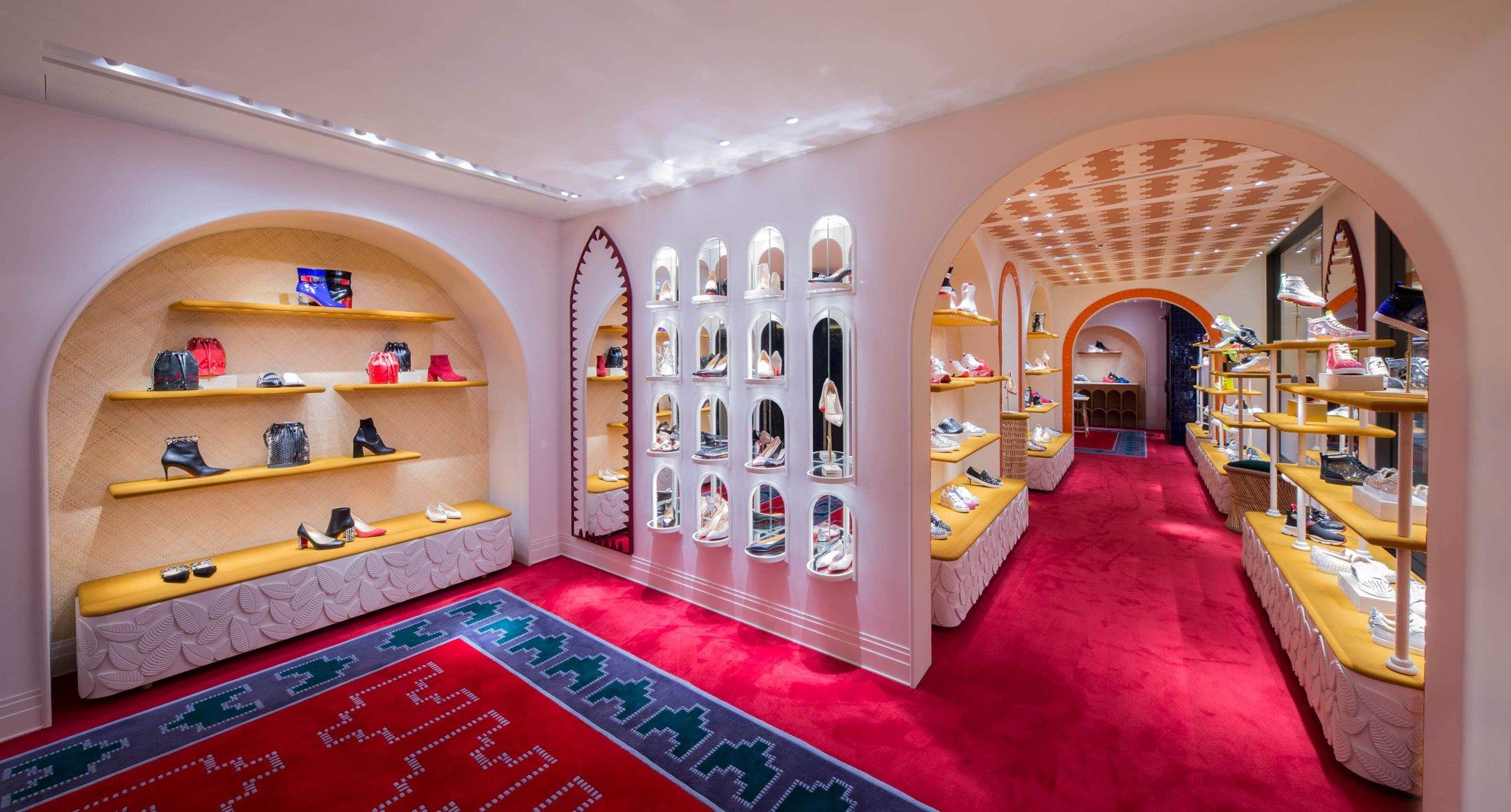Christian Louboutin store in Hong Kong