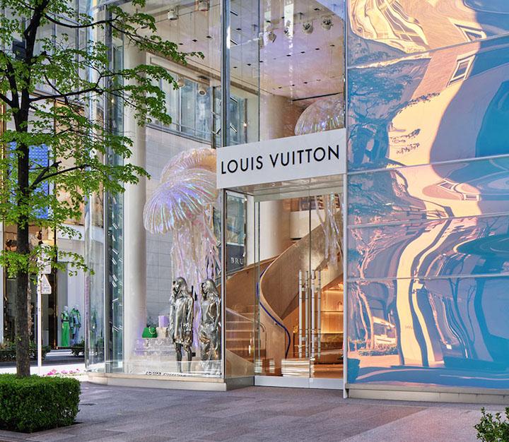 Louis Vuitton new store Tokyo at Namiki - Ginza