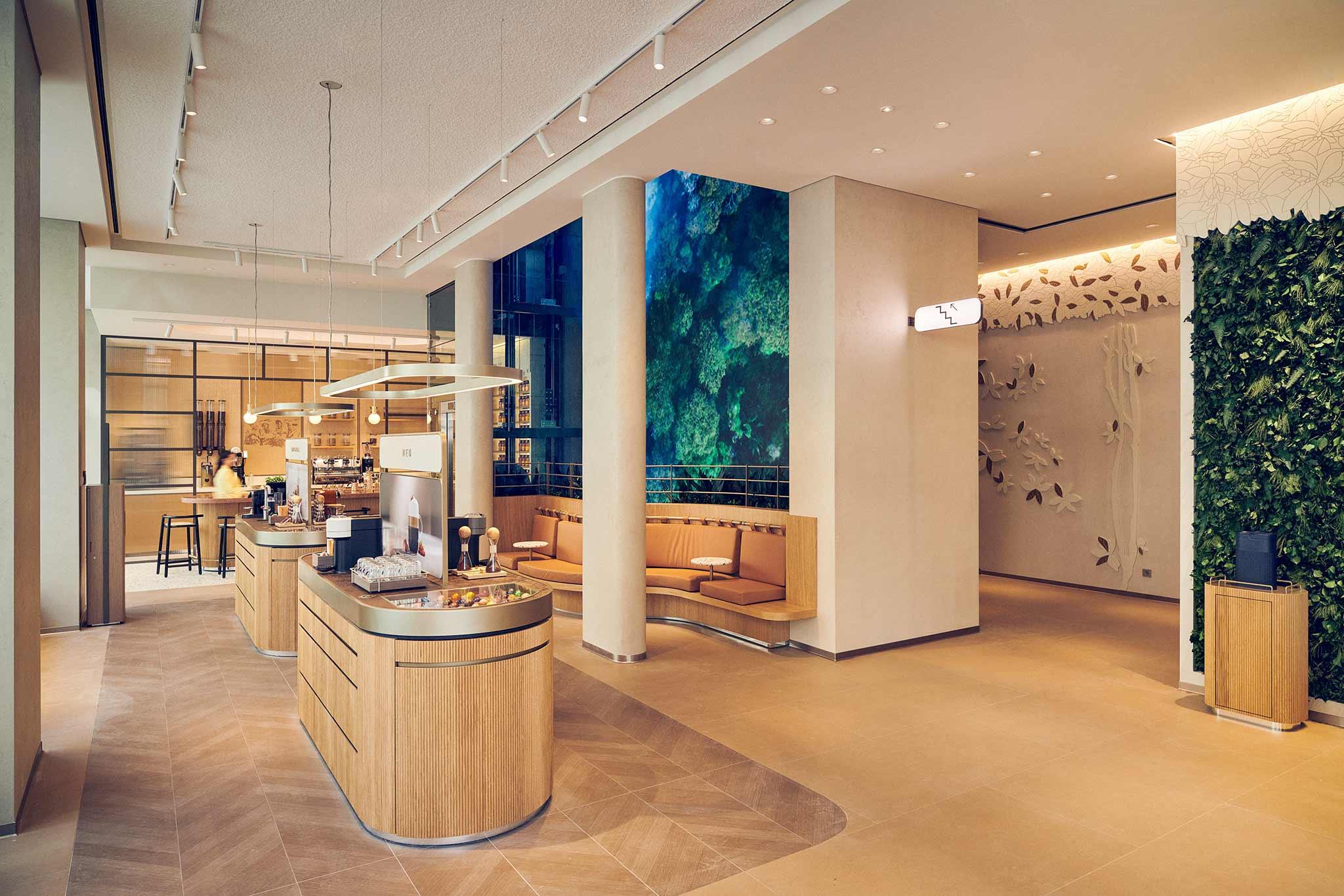Nespresso new retail concept in Vienna - Nespresso Atelier