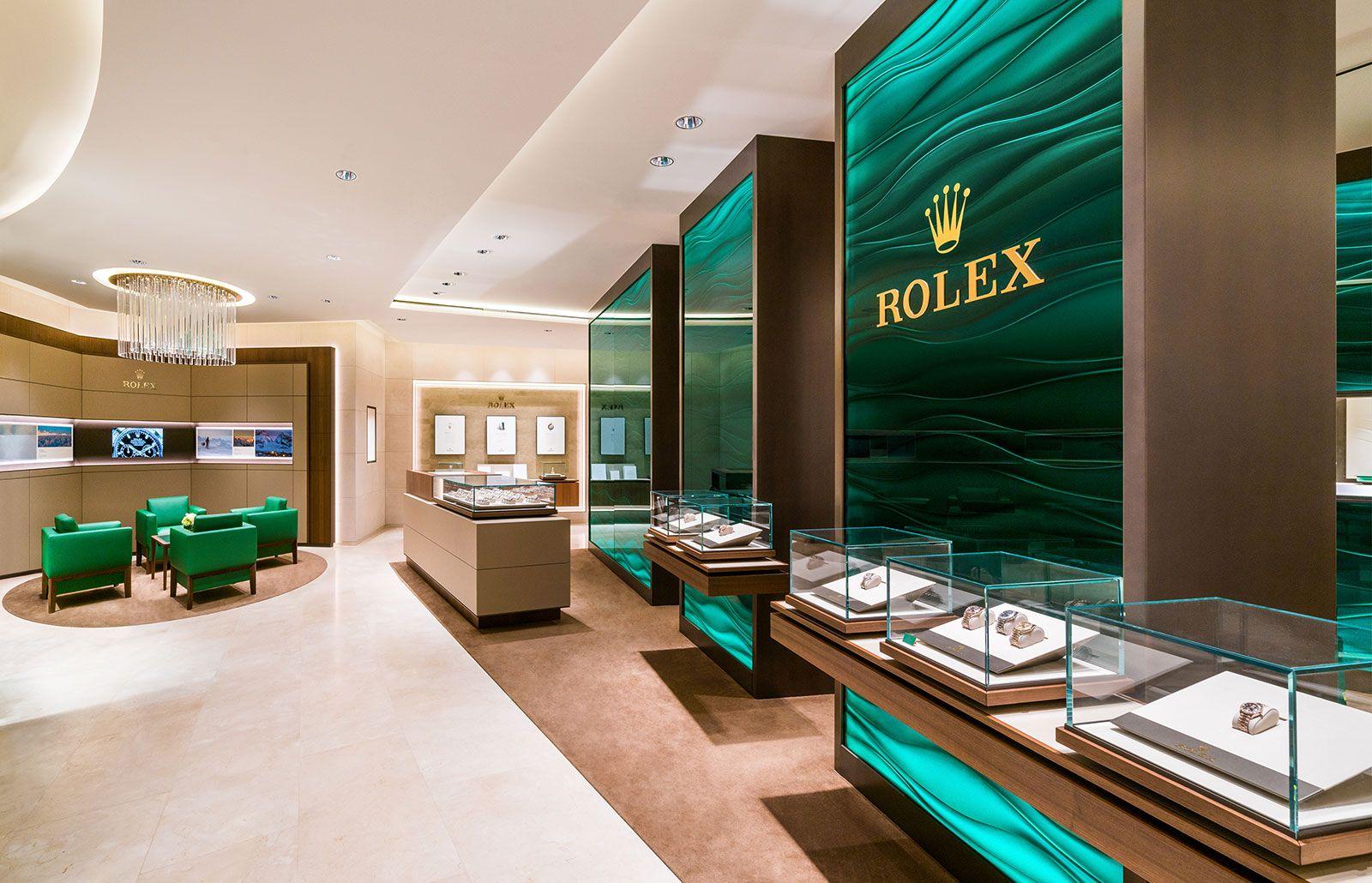 Rolex boutique in Singapore
