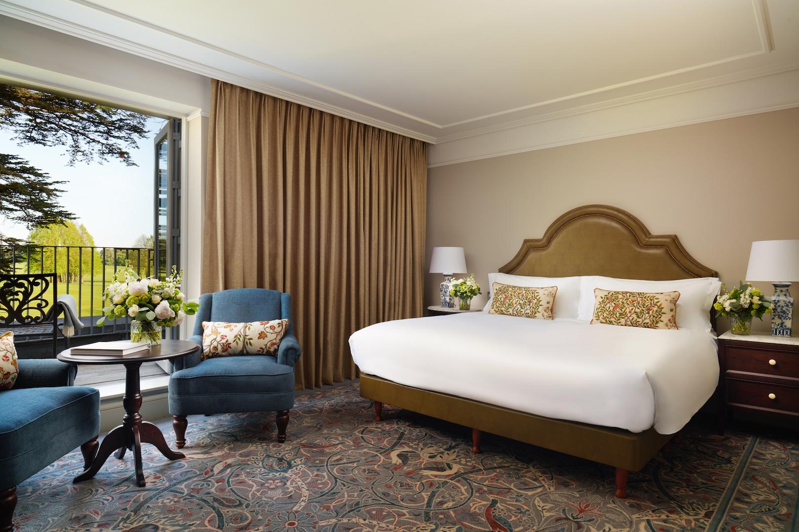 Carton House - Fairmont Balcony King room (Fairmont Hotels)