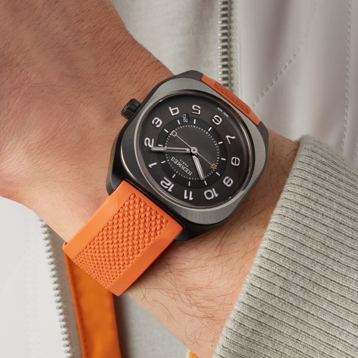 Hermès H08 watch 2021 novelty at Watches & Wonders