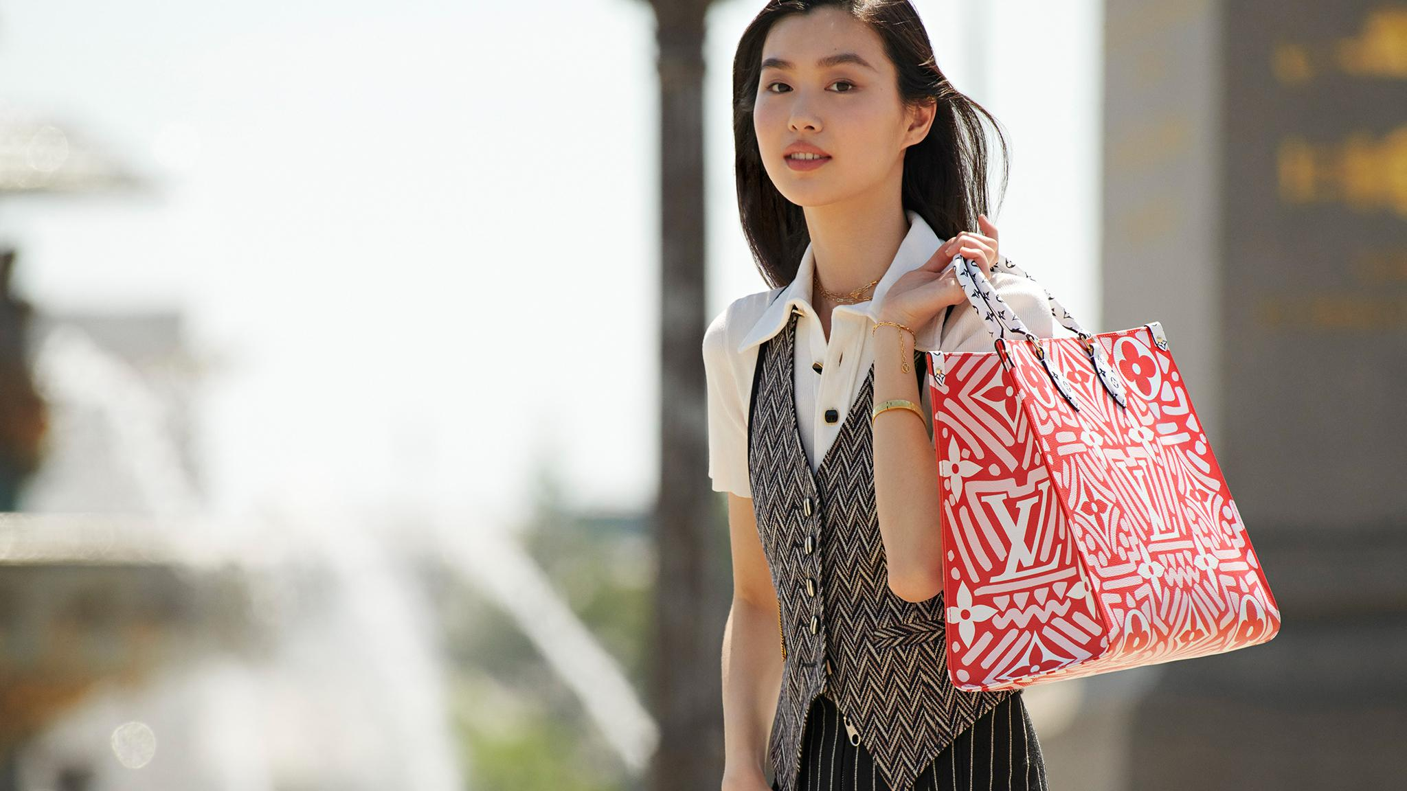 Louis Vuitton campaign for Chinese Valentine's day
