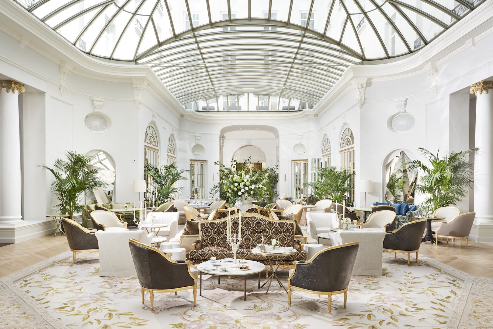 Mandarin Oriental Ritz, Madrid now officially open - Palm Court