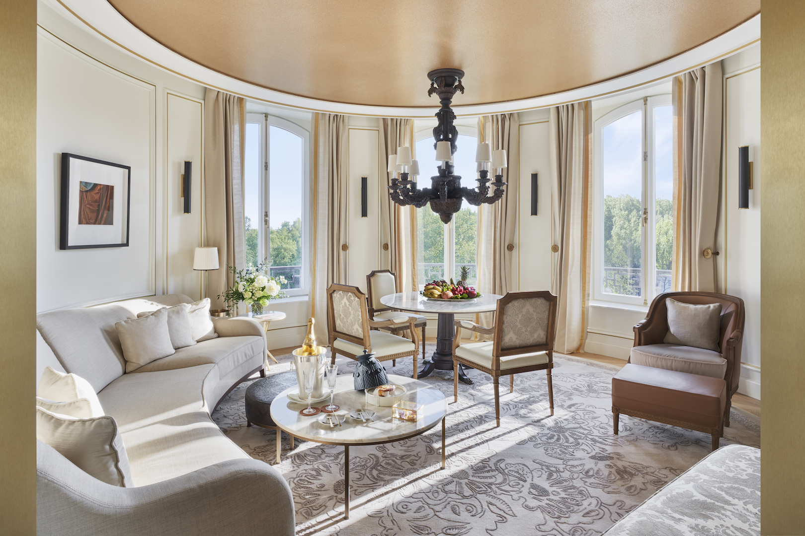 Mandarin Oriental Ritz, Madrid now officially open - Turret Suite