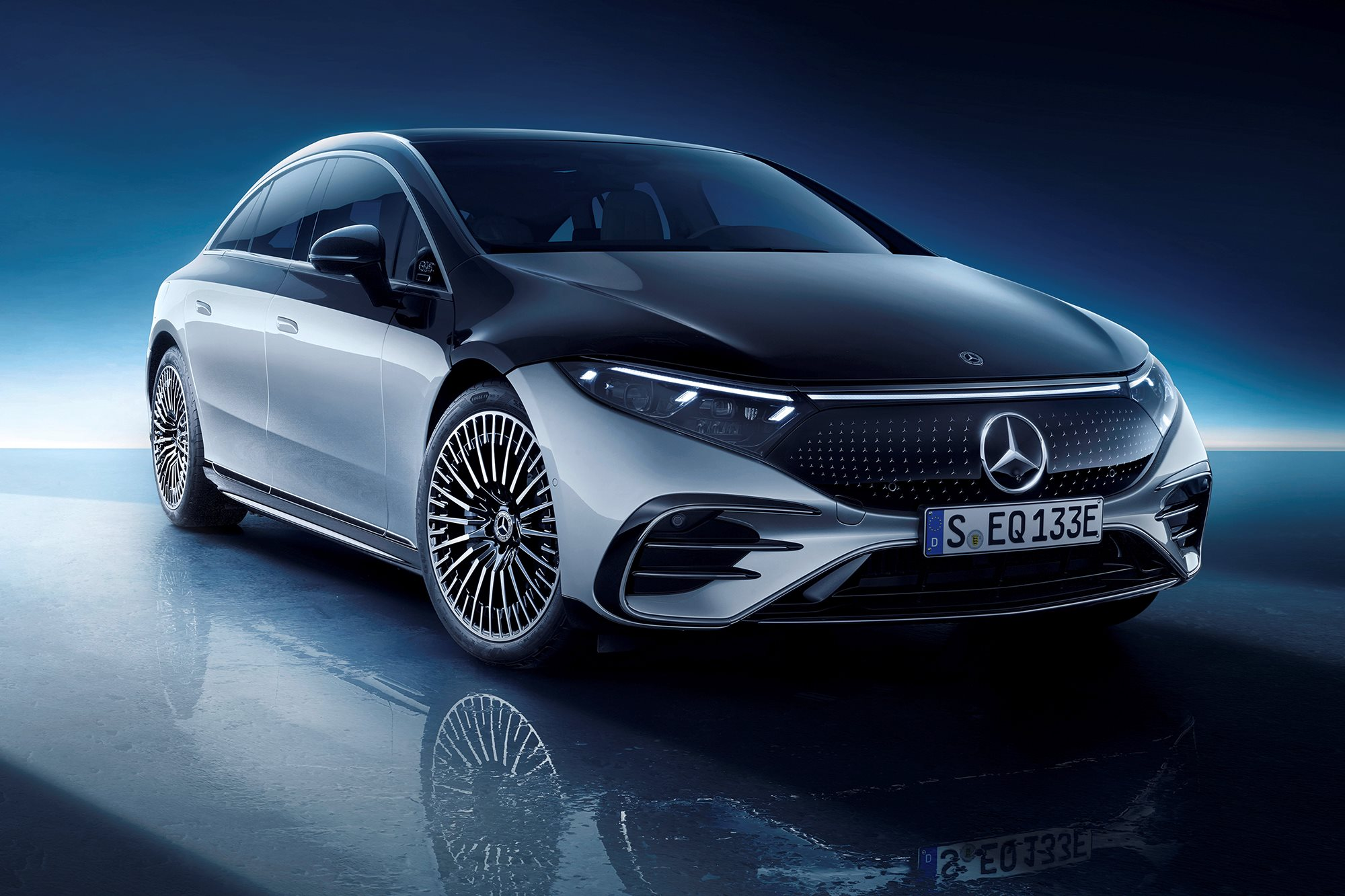 Mercedes-Benz EQS new, all-electric (2022)