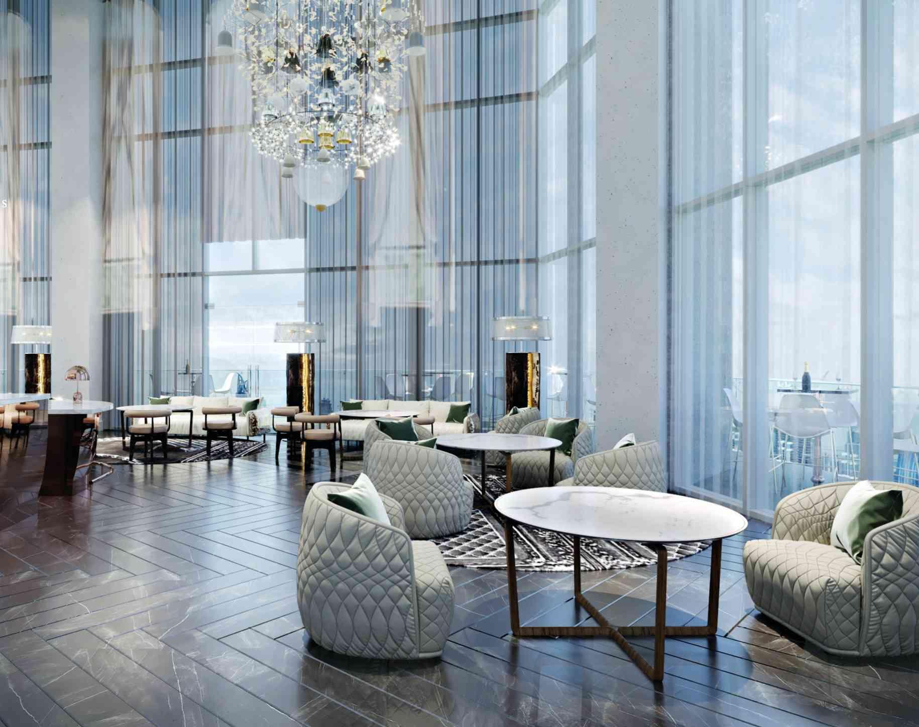 SLS Hotel Dubai - S Bar in the Sky Lobby