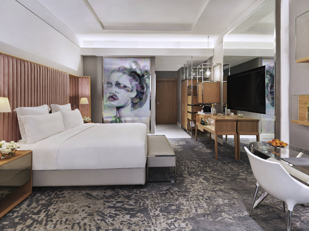 SLS Hotel and Residences Dubai - deluxe room