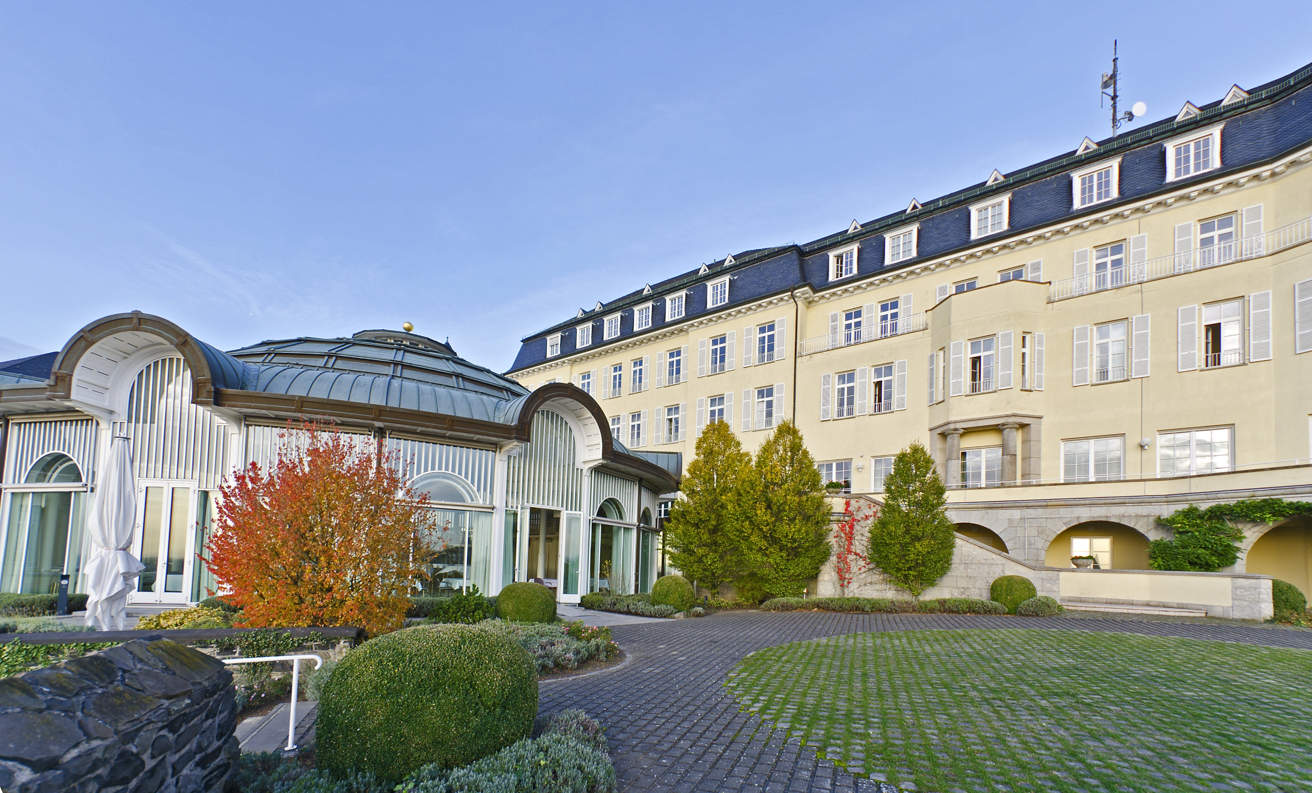 Steigenberger Grandhotel & Spa Petersberg Bonn - new 'Steigenberger Icons' Hotel
