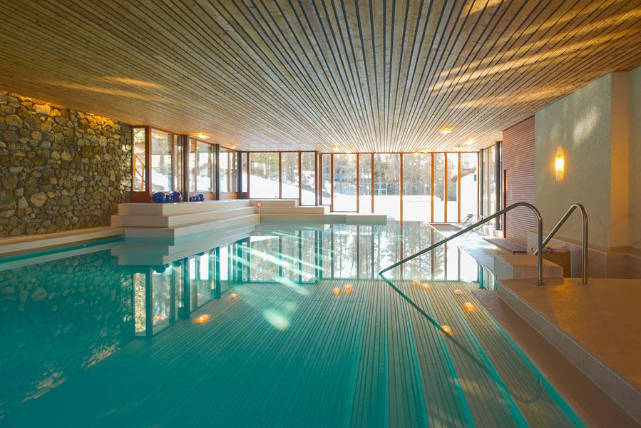 Waldhaus Sils - indoor heated swimming pool
