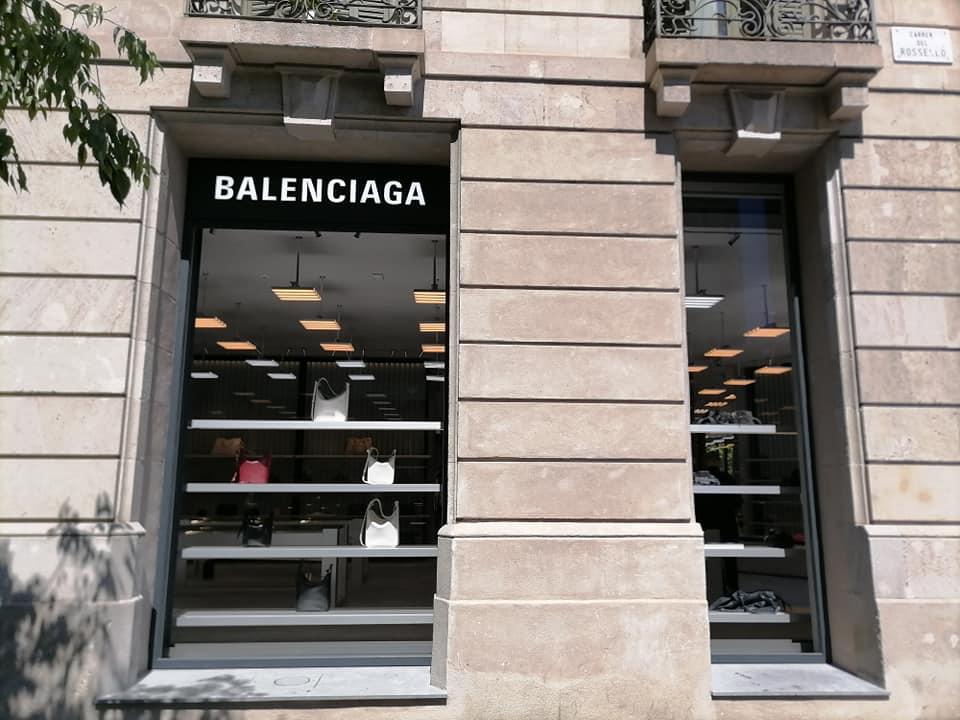Balenciaga new store Barcelona, Spain