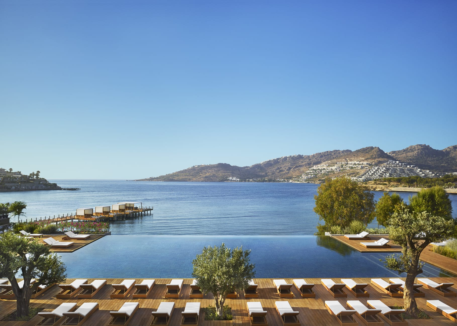 Bodrum EDITIONS pools and beach (review)