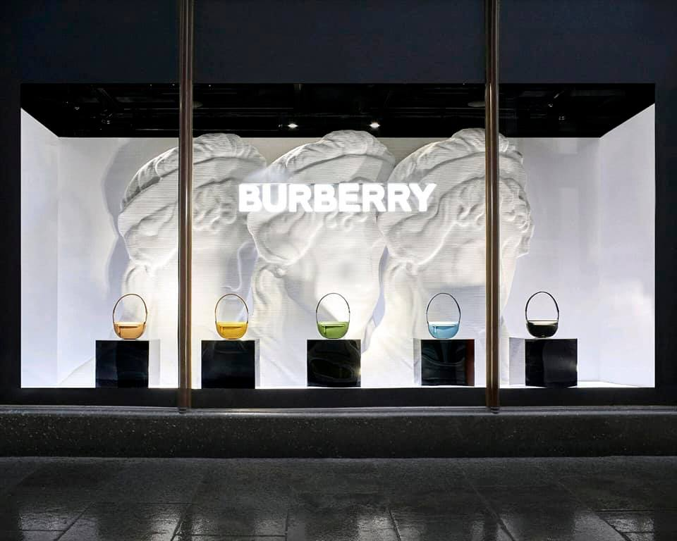 Burberry 'Olympia' pop-up at Harrods