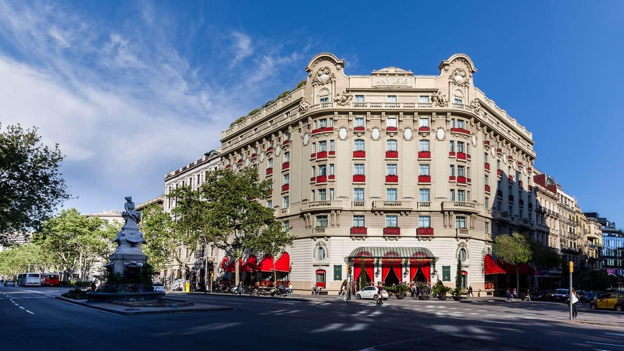 El Palace Barcelona Hotel - facade