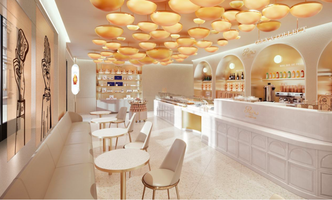 Ritz Paris Le Comptoir at Rue Cambon (pastry shop) June 2021
