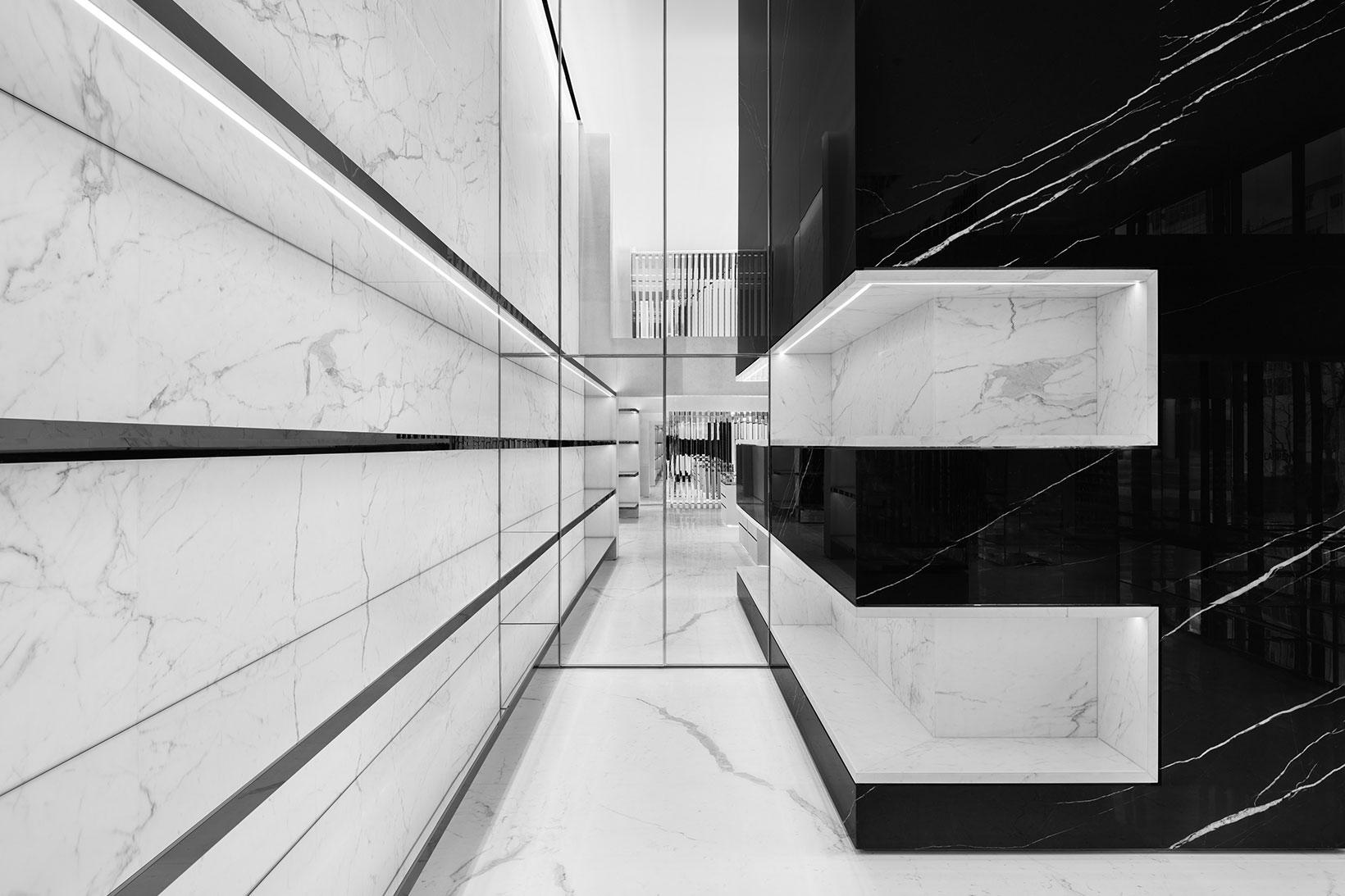 Saint Laurent new flagship store in Seoul