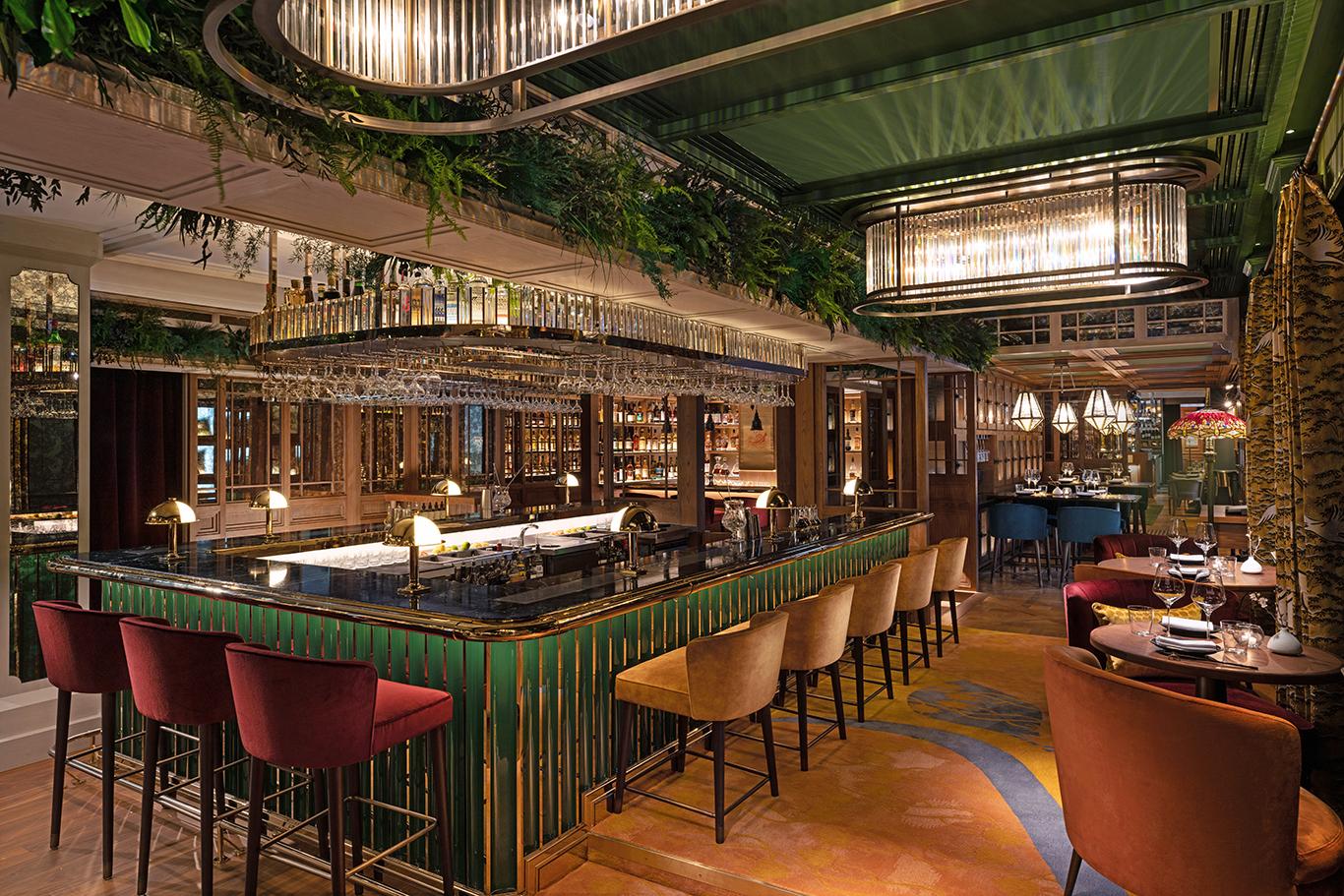 The Aubrey restaurant at Mandarin Oriental, Hong Kong