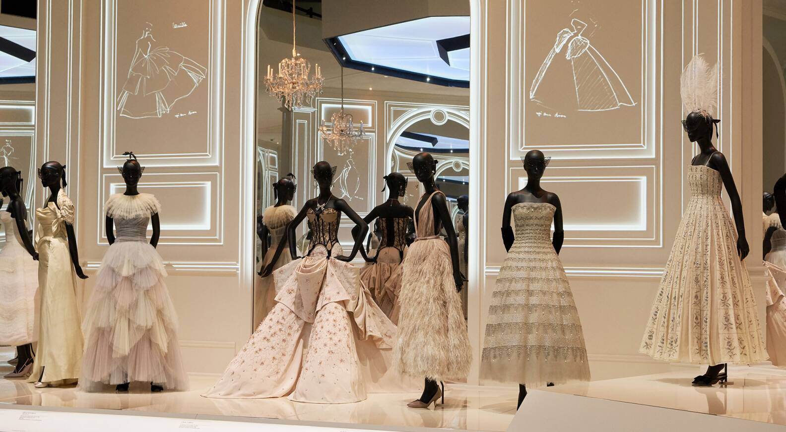 'Christian Dior: Designer of Dreams' exhibition
