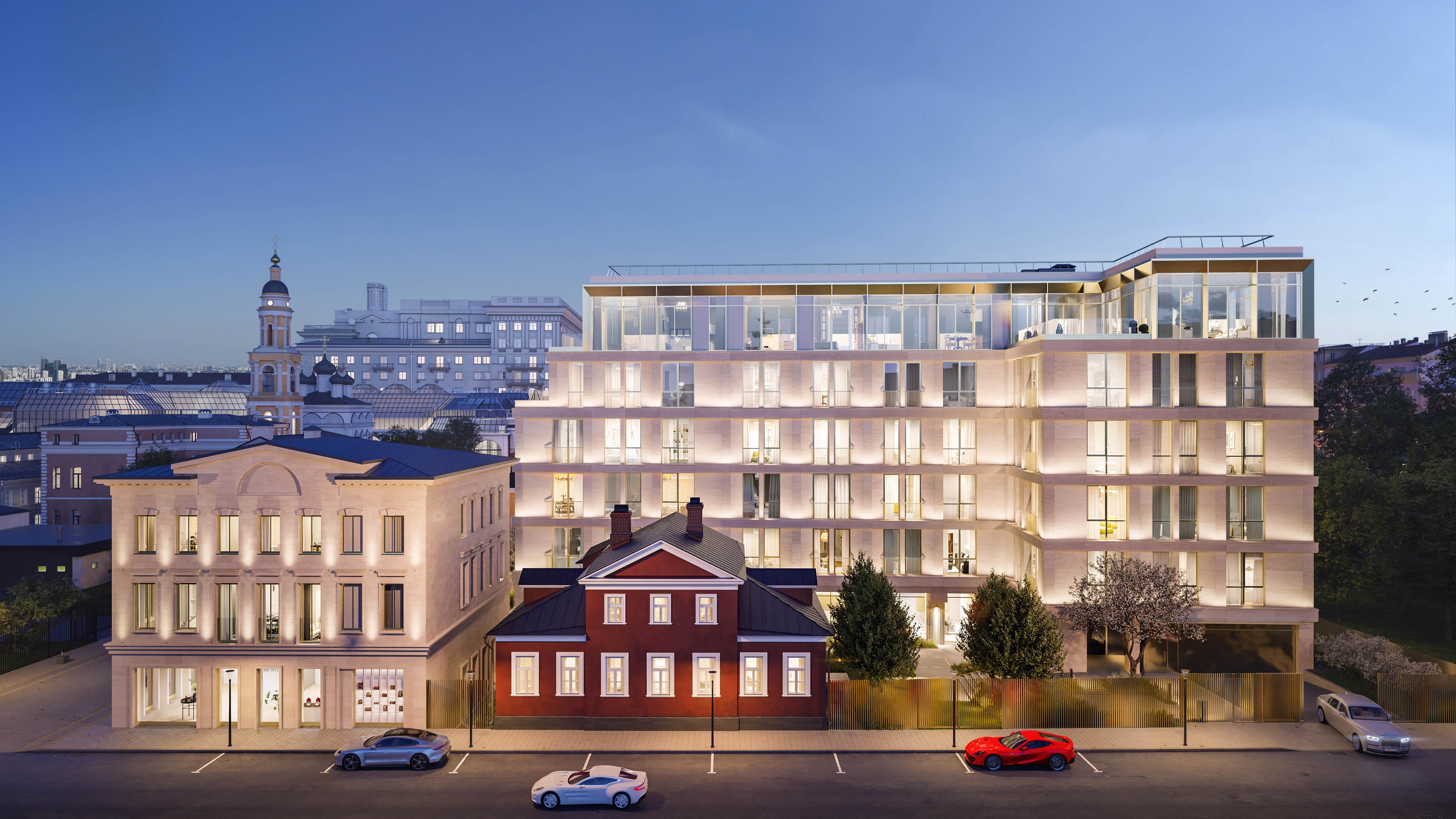 Armani Casa Moscow Residences