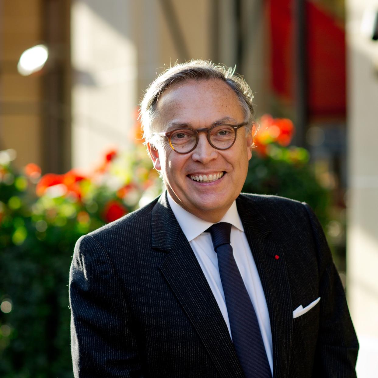 François Delahaye, GM Hôtel Plaza Athénée, Paris & COO Dorchester Collection