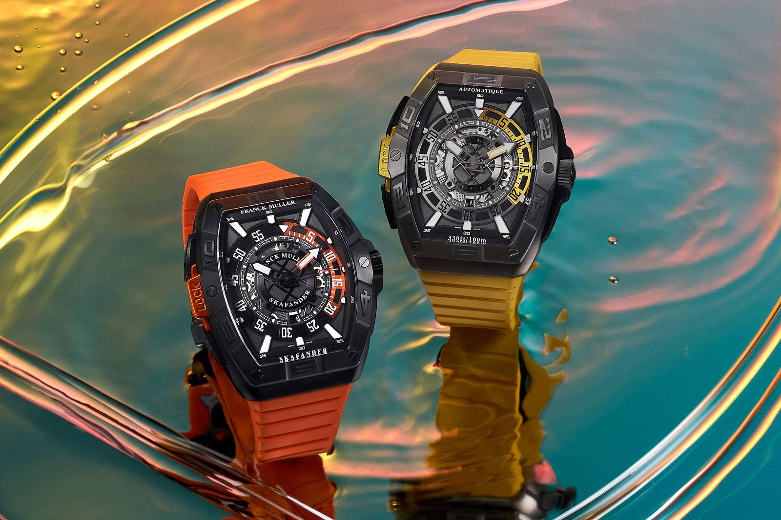 Franck Muller Introduces the Skafander Tonneau Diver's Watch