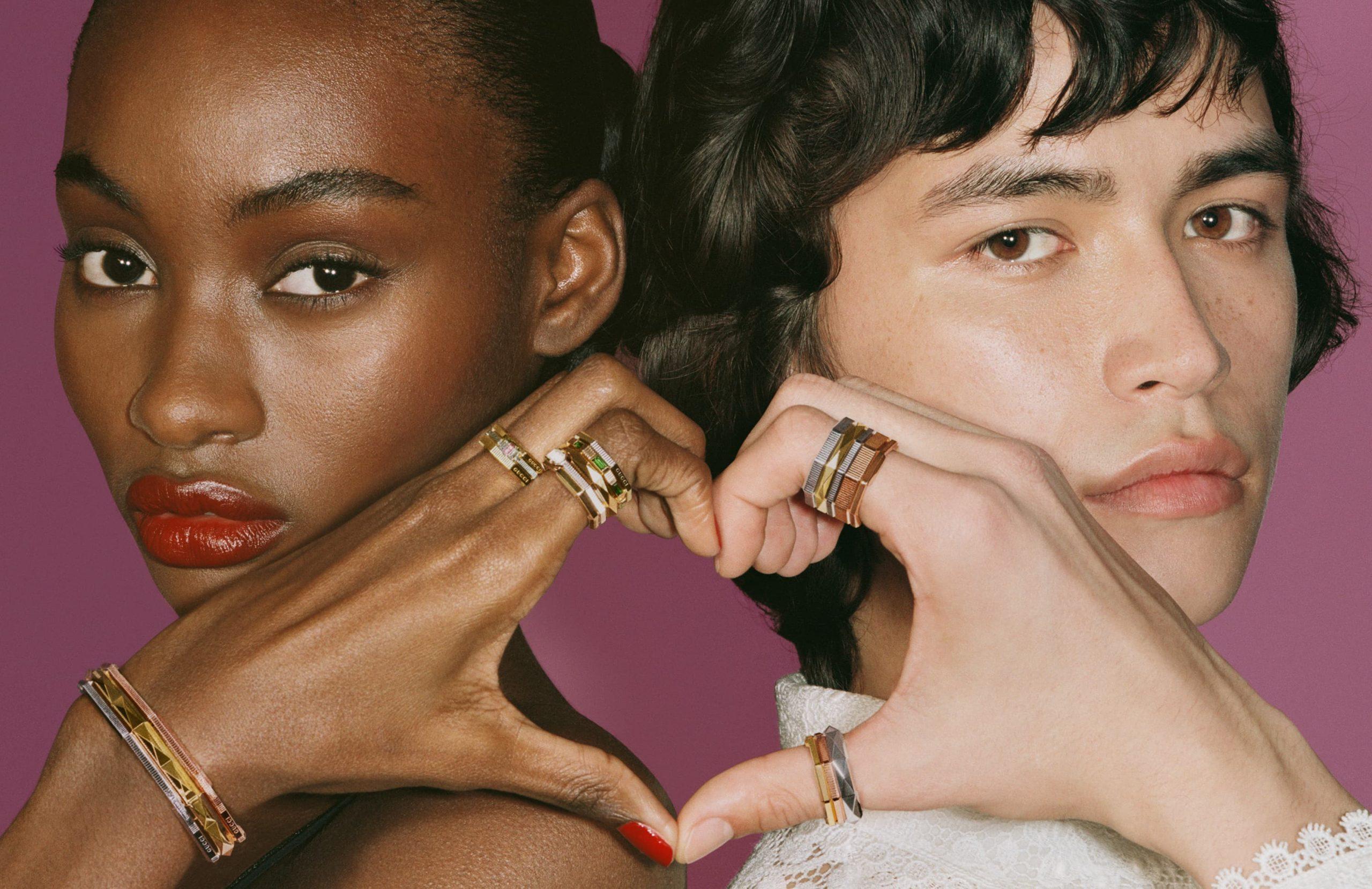GUCCI #LinkToLove 2021 fine jewellery campaign