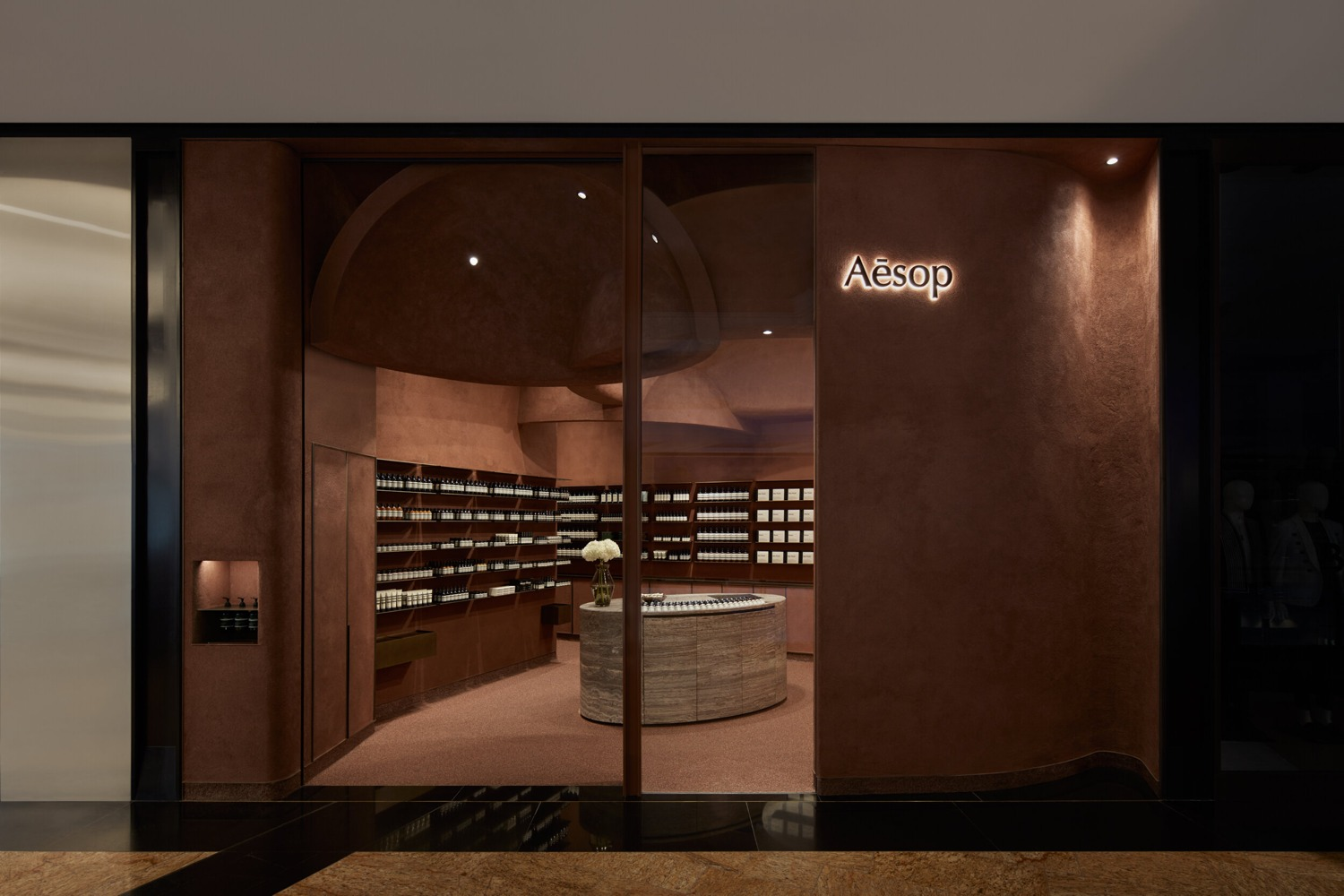Aesop new store in Dubai at Mall of Emirates