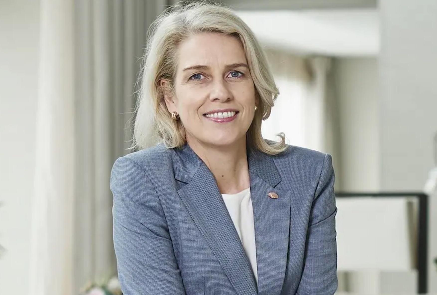 Geraldine Dobey, General Manager Mandarin Oriental Paris & Area Vice President