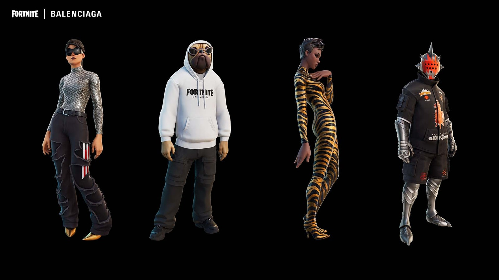 Balenciaga partners with Epic Games for Fortnite in the Metaverse