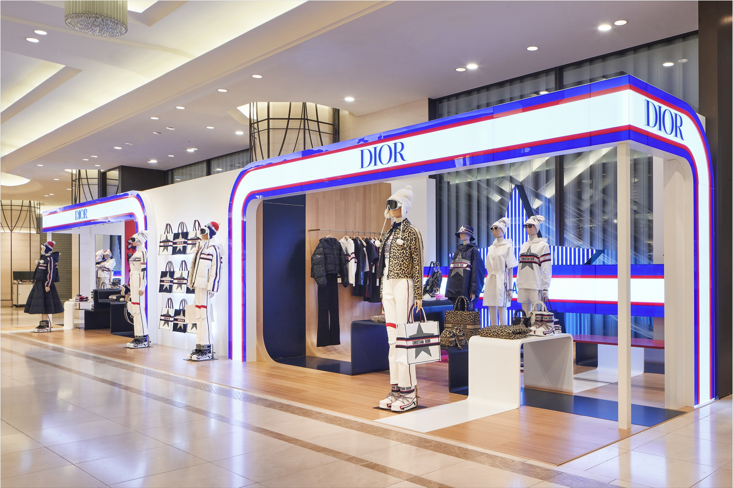 DIOR opens #DiorAlps pop-up in Osaka