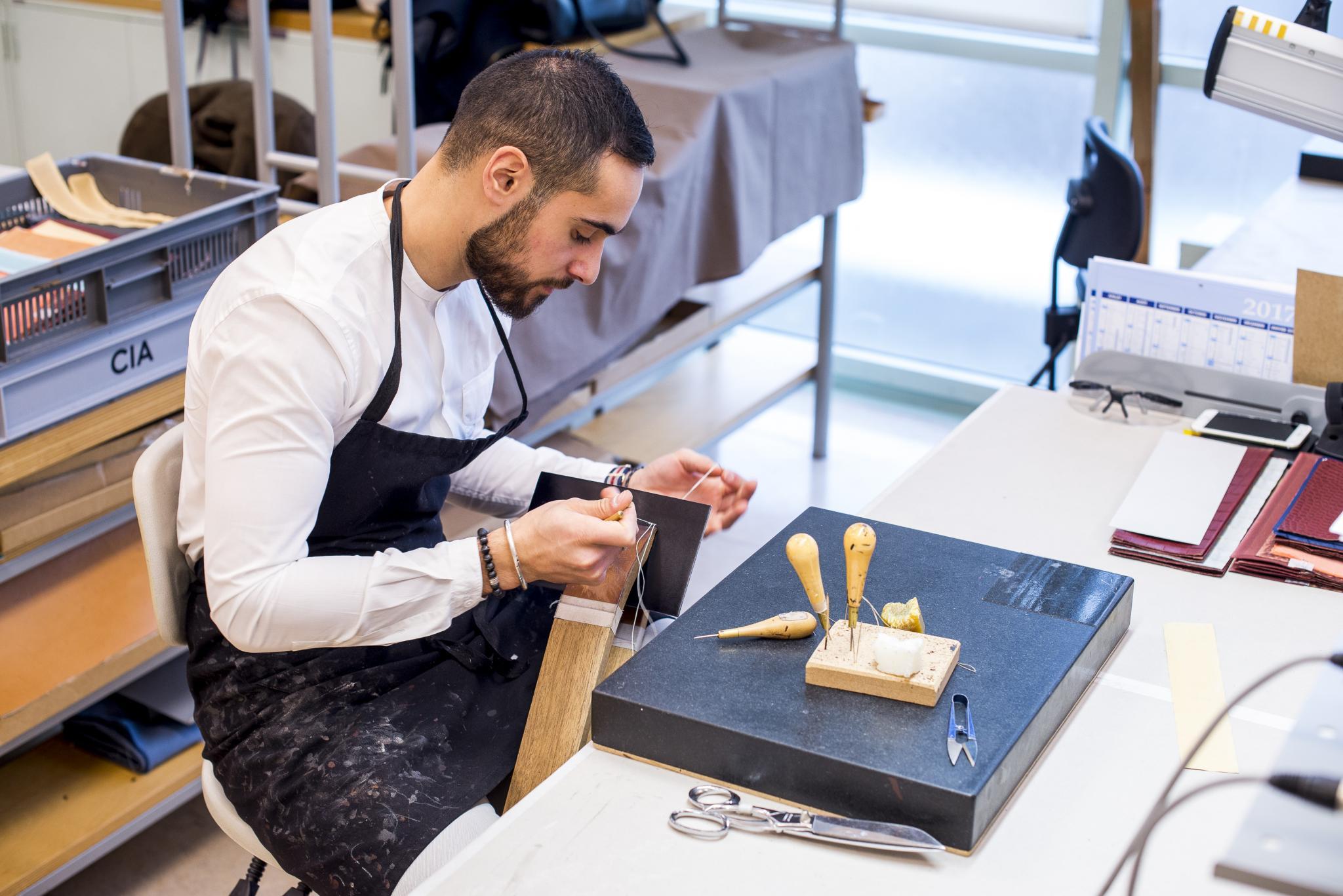 Hermès introduces L'École Hermès des savoir-faire (Hermes school)
