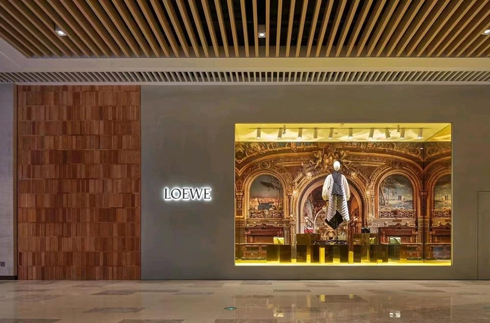 LOEWE new store in Wuhanm (China) at Heartland 66 Mall
