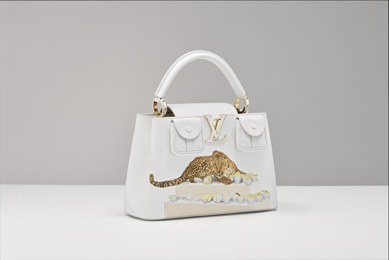 Louis Vuitton new 2021 'Artycapucines' Collection