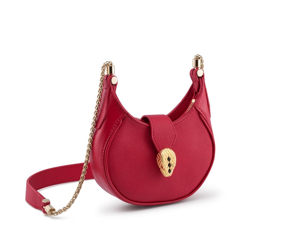 Bvlgari Serpenti Hobo Bag, SS22 Milan Fashion Week